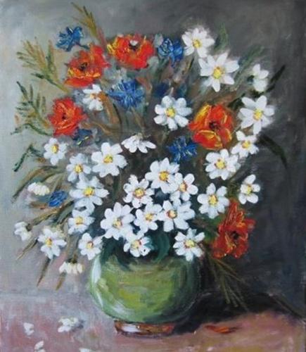 Цветы гуашью для начинающих