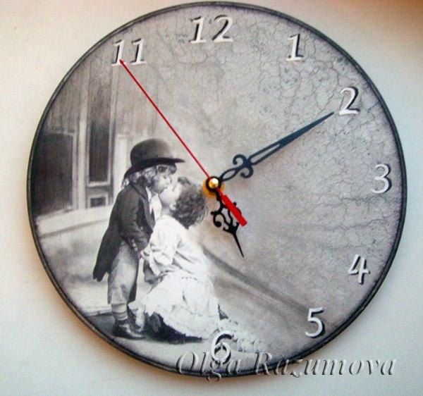 Часы своими руками для мужчины 9