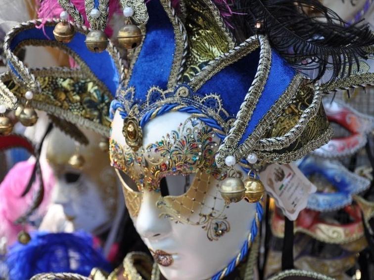 Венецианская маска своими руками: мастер-класс 28