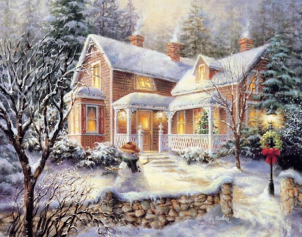 Зимняя сказка открытки картинки